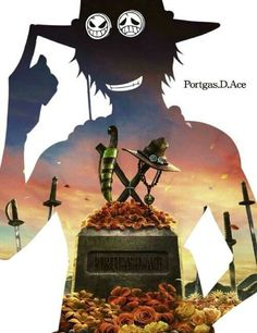 One Piece ~ Portgas D. Ace i wish Luffy could save him and then he still lives i WISH One Piece Manga, Ace One Piece, Otaku Anime, Manga Anime, Anime One, Ace Portgas D, Manga Comics, Ace Sabo Luffy, The Pirate King