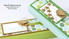 Stampin' Up! Demonstrator Pootles - Long Thin Tuck 'n Fold Box Tutorial using Coffee Break