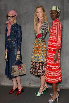 Gucci at Milan Fashion Week Spring 2016 - Livingly