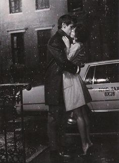 Kiss goodbye in the rain. PurpleBunnyCloset