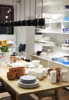 Iittala Esplanade Flagship Store. Table Settings, Table Decorations, Store, Interior, Furniture, Home Decor, Decoration Home, Indoor, Room Decor