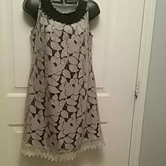 A Dress A Stylish Fall Dress with Decorations Angie Dresses