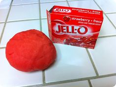 Jell-Doh- So fun watching it change from a liquid to solid. Definitely going to always make this
