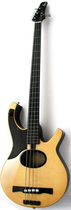 Harvey Citron AE4 Swallow acoustic electric Bass --- https://www.pinterest.com/lardyfatboy/