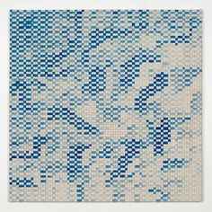 ELISE Adibi, Blue Tansy Grid, 2013