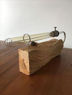 × - Art of Epoxy Retro Lighting, Rustic Lighting, Lighting Design, Industrial Style Lamps, Rustic Lamps, Wooden Lamp, Wooden Diy, Driftwood Lamp, Steampunk Lamp