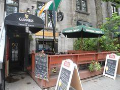 Fiddler's Green Pub, Montreal Quebec