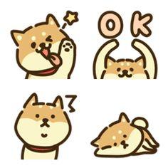 Kawaii! Shiba Inu Emoji Set. Cute Doodle Art, Cute Doodles, Cute Art, Dog Emoji, Emoji Set, Cartoon Design, Cartoon Art Styles, Kawaii Stickers, Cute Stickers