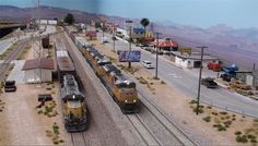 Ho Shelf Plan Train Layouts | Video: Weathered rooftops on the HO scale Daneville Sub