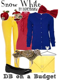 Snow White, created by lalakay on Polyvore