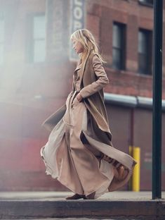 soft camel: kirsten owen by david bellemere for marie claire italia october 2015 | visual optimism; fashion editorials, shows, campaigns & more!