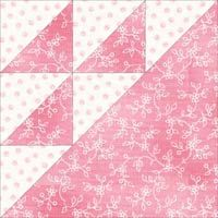 Birds in the Air Quilt Block Pattern: A complete tutorial in 4 sizes