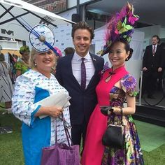 With James Tobin and Athena Lin great day at the Melbourne Cup!