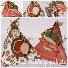 Stampin Up Stanze Eichel und Stempelset Herbstgrüße. www.andi-amo.blogspot.de