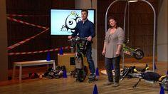 FlyRad Elektro Einrad mit Inlineskates bei DHDL