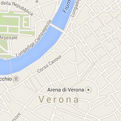 Abbiamo creato un percorso personale utilizzando google maps.. Esso è una Visita Guidata a Verona Storica