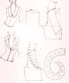Amazing Sewing Patterns Clone Your Clothes Ideas. Enchanting Sewing Patterns Clone Your Clothes Ideas. Blog Couture, Creation Couture, Techniques Couture, Sewing Techniques, Dress Sewing Patterns, Clothing Patterns, Sewing Collars, Pattern Draping, Sewing Blouses