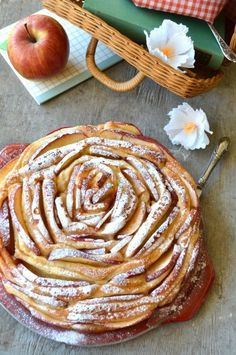 torta pan brioche alle mele senza burro