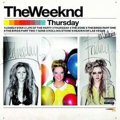 Double LP - The Weeknd - Thursday