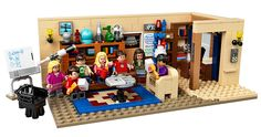 Official LEGO Set Based on 'The Big Bang Theory' to Release in August 2015
