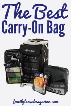 Review: Zuca Pro Carry-On Bag - Family Travel Magazine Blog and Reviews