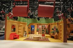 Three's Company set - I want that cross on the wall by Janet's room. Tv Set Design, Set Design Theatre, Tilt Shift Photography, Three's Company, Tv Sets, Tv Decor, Scenic Design, Classic Tv, A Christmas Story