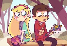 Star and Marco by AlexDasMaster.deviantart.com on @DeviantArt, Star Vs The Forces Of Evil