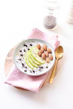 Overnight Porridge Avoine Noix de coco Chia | Lilie Bakery