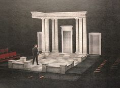 Set design by Sean Fanning