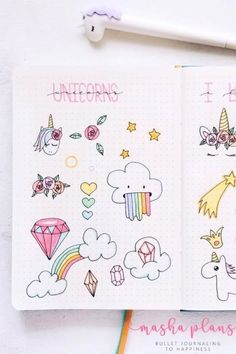 Check out these super cute bullet journal doodle ideas! Looking to decorate your bujo or need a drawing tutorial? Check out these awesome bullet journal doodle ideas next time you're setting up a new page! Bullet Journal Aesthetic, Bullet Journal Notebook, Bullet Journal Ideas Pages, Bullet Journal Inspiration, Little Doodles, Cute Doodles, Space Drawings, Doodle Drawings, Planet Drawing