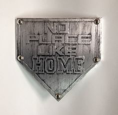 Buy one similar No Place Like Home Plate Baseball by NonUglyFaces