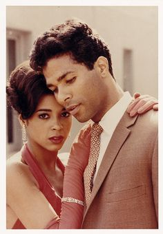 """The original movie, """"Sparkle"""" highlighted Phillip Michael Thomas and the gorgeous Irene Cara. Two beautiful people."""