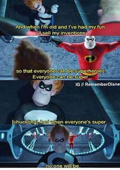 I know the true meaning to this scene. But you'll have to figure it out yourselves. Anywho. If anyone can be super.. Can I have bacon powers then? XD .