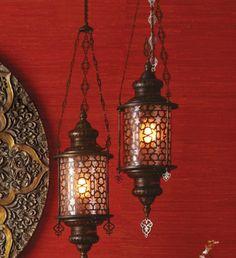 """Cypress"" Lantern - mediterranean - pendant lighting - Horchow"