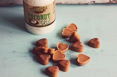 Try these peanut butter and coconut oil dog treats to utilize all of the healthy benefits that Golden Barrel Coconut Oil can offer dogs.