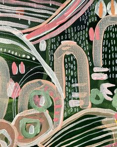 Wild Love Ltd Edition Fine Art Print Ed. 1 of 50 by Carley Bourne Indigenous Australian Art, Australian Artists, Contemporary Abstract Art, Contemporary Decor, Textile Fiber Art, Abstract Nature, Buy Art Online, Acrylic Painting Canvas, Paintings For Sale