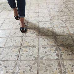 Tabarka Studio Tiles, terracotta tile collections click the image or link for more info. Painting Tile Floors, Terracotta Floor, Buy Tile, Floor Patterns, Tile Patterns, Tile Installation, Fireplace Wall, Color Tile, Tile Design