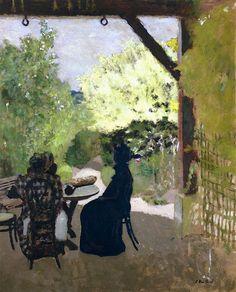 Edouard Vuillard - Under the Portico