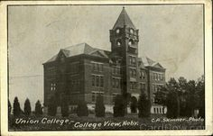 Union College back in the day