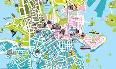 Helsinki for kids map