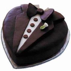 Tux Cake, Groom's Cake