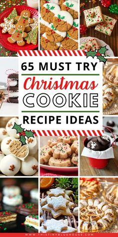 65 best delicious holiday cookie recipes – This Tiny Blue House 65 best delicious holiday cookie recipes – Delicious, easy and wonderful cookie recipes to serve during the holiday season. GIft them or eat them these delicious treats will be loved by all. Christmas Food Gifts, Christmas Cookie Exchange, Christmas Sweets, Christmas Cooking, Christmas Parties, Christmas Recipes, Christmas Time, Christmas Cakes, Winter Parties