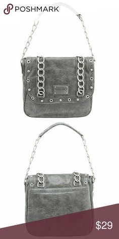 Grey David Britton Buffalo Purse Grey David Britton Buffalo Purse Buffalo David Bitton Bags