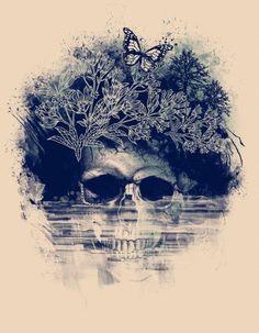 skull art. looove skulls