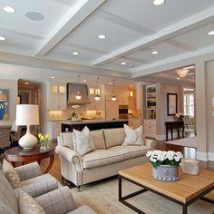 Modern Cape Cod.. love the ceiling