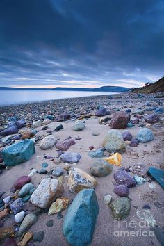 Woodstown Beach, Ireland I gotta go there and bring those rocks home! - next trip ; Places Around The World, Oh The Places You'll Go, Places To Travel, Places To Visit, Around The Worlds, Foto Picture, Adventure Is Out There, Dream Vacations, Vacation Travel