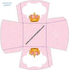 Caixa Multiuso Coroa Rosa