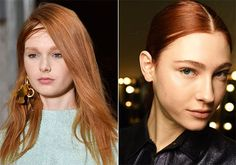 Ronze: perfect hair color mixture designed for redheads. Has a combination of copper red and bronze brown, so if you're a natural redhead and are looking to add some depth and vibrancy to your hair color, this is the trend for you. With that said, it's always best to talk to your stylist when coming up with a tone that will complement your skin.