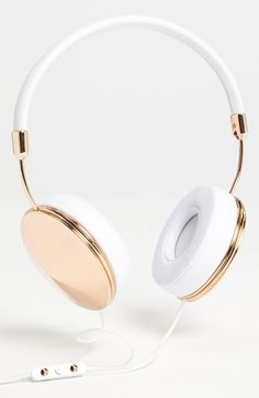 rose gold headphones - yes,please