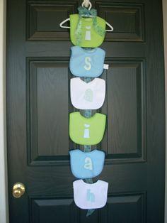 bib baby shower decorations - Google Search
